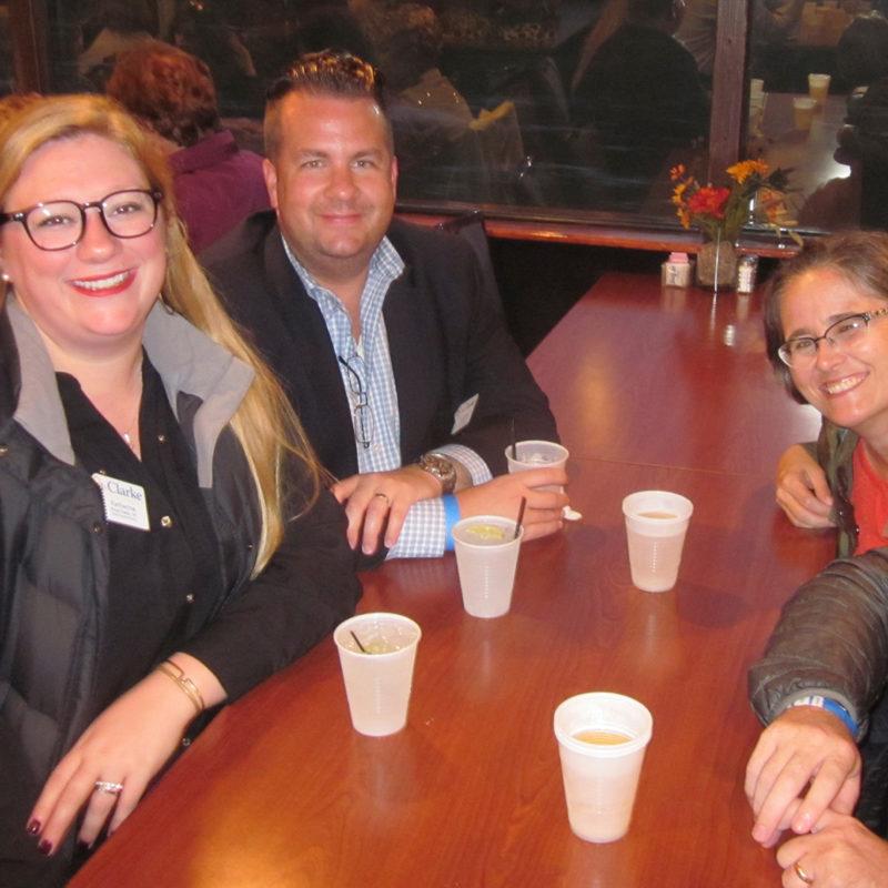 Alumni on the river cruise
