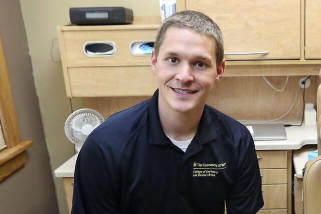 Clarke University Biochemistry Major Graduate Brad Weimerskirch