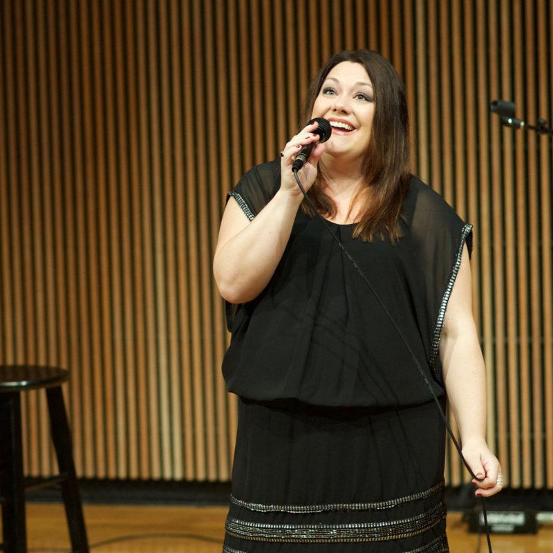 Brooke Elliot performing