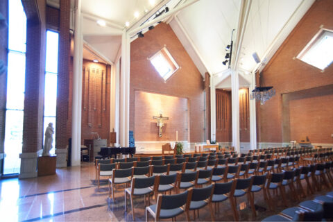Clarke University's Sacred Heart Chapel