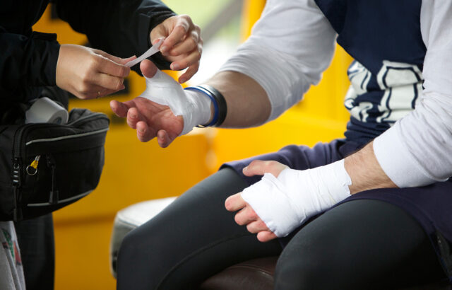 Athletic Training Careers available to Clarke University Athletic Trainer Students