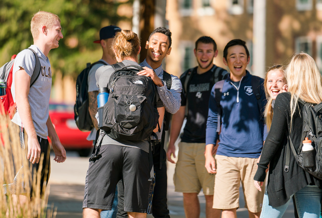 Clarke students on campus