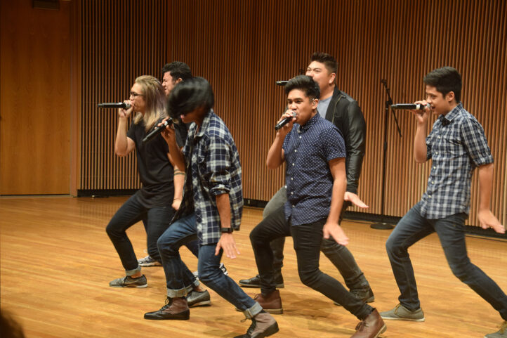 Filharmonic group performing at Clarke