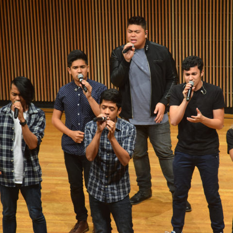 Filharmonic performing at Clarke