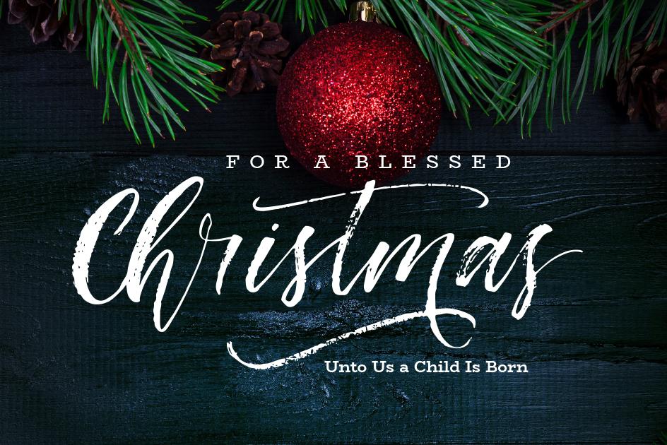 For A Blessed Christmas - Clarke University - Clarke University