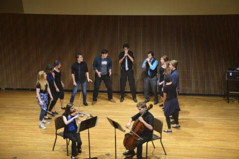 Clarke University's Jansen Music Hall for Music Performances