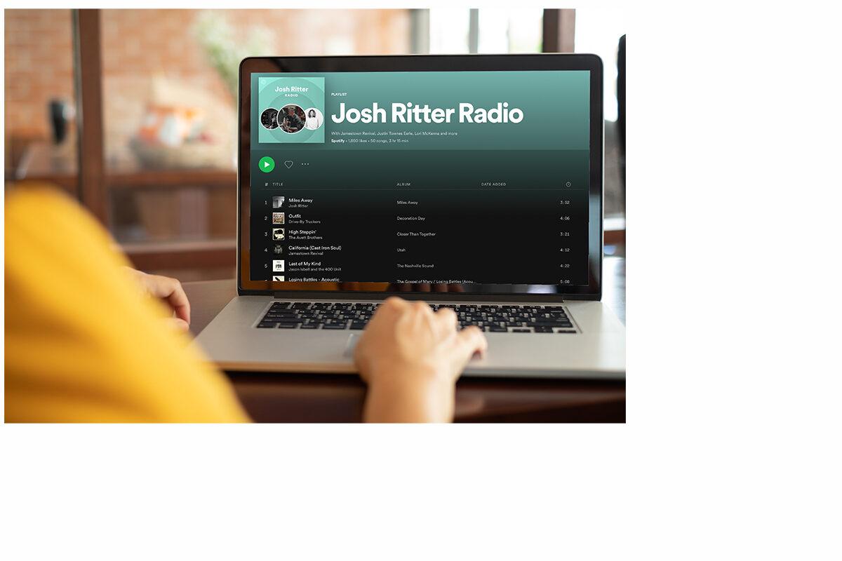 Josh Ritter - Spotify Playlist