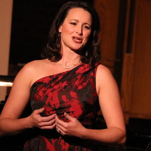Clarke Musicc Degree program student focusing on Opera