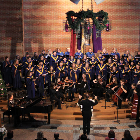 Clarke University Music School Choir