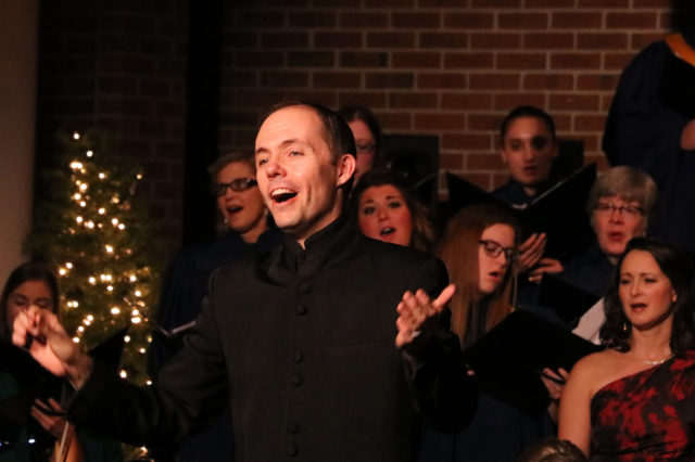 Christmas choir Jeremy Mims