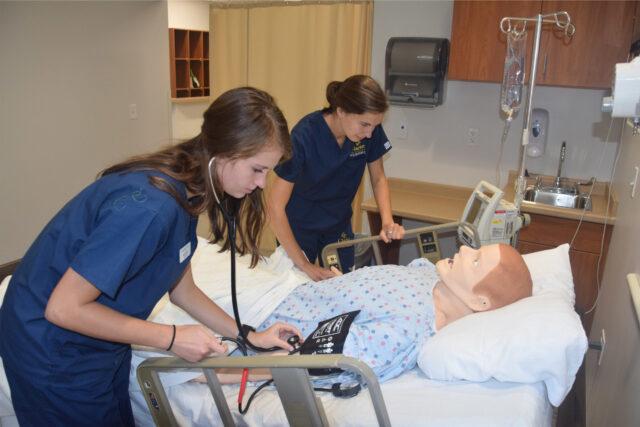 Clarke University Nursing Simulation Lab