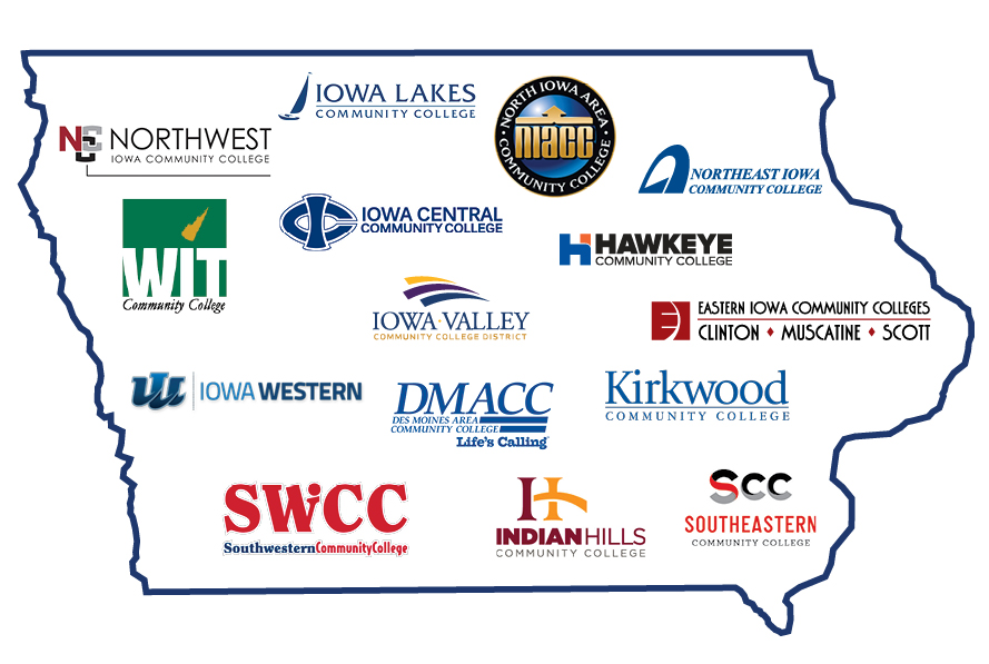 Clarke University Transfer Partnership with all 15 Iowa Community Colleges