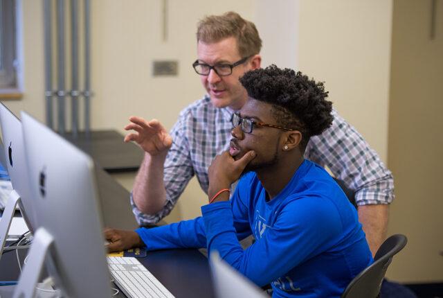 Digital Media Studies major student received feedback from Clarke University Professor