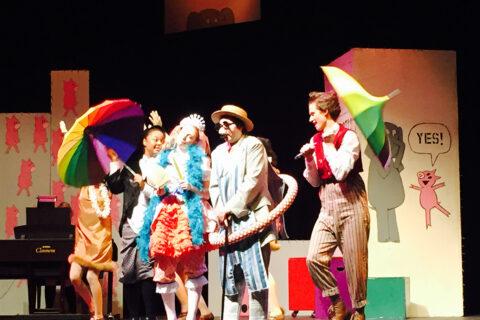 Drama production of Elephant and Piggy