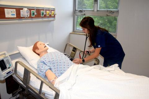 nursing sim lab